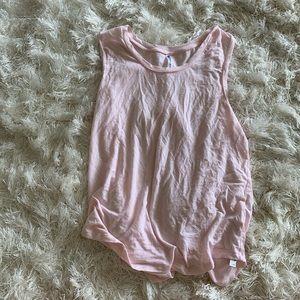 Fabletics Pastel Pink Tank Top